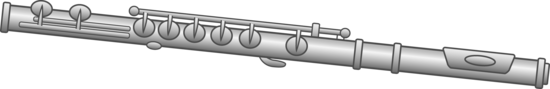 Flute Clip Art Design