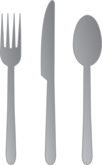 how to set up forks knives and spoons