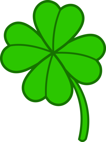 Simple Four Leaf Clover