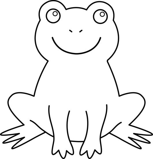 cute frog template