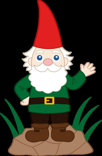 Gnome In Garden: Friendly Garden Gnome