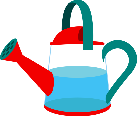 Watering Can Filled With Water