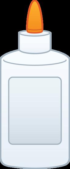 bottle of glue clipart - free clip art