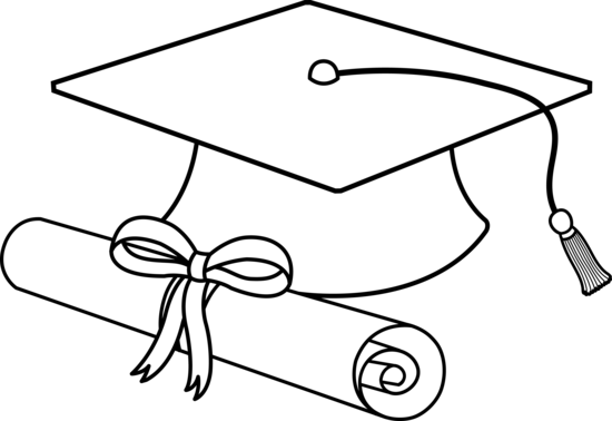 free education clipart black and white - photo #40