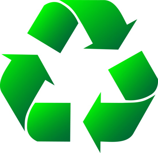 Green Recycle Logo Clip Art