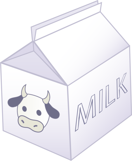 Miniature Carton of Milk
