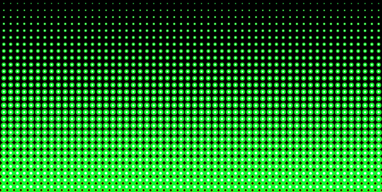 Neon Green and Black Halftone Background