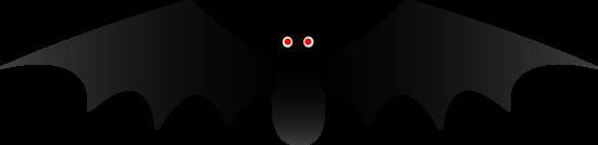 Cute Black Halloween Bat