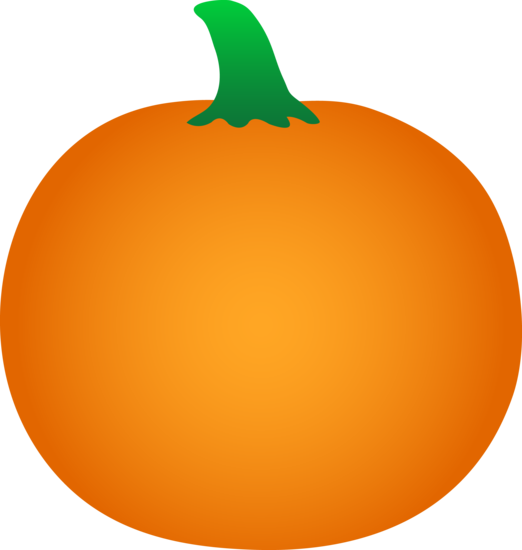 Simple Orange Pumpkin Vegetable