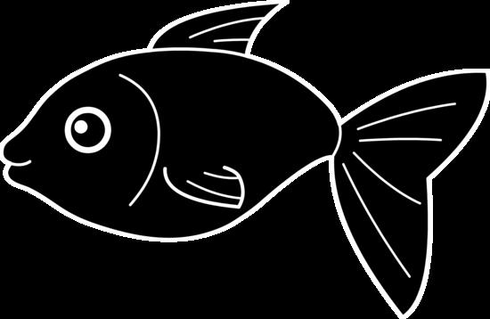 Happy Black Fish Design