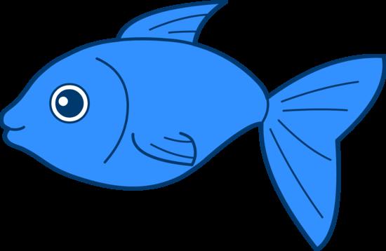 Happy Blue Fish Design