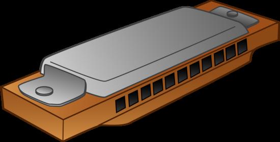 Harmonica Clipart Design