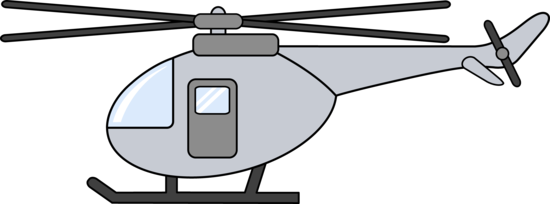 Little Silver Helicopter