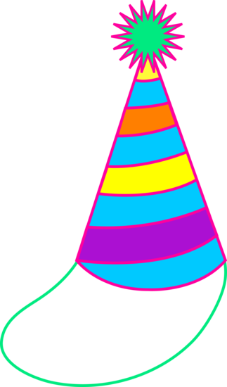 Colorful Party Hat