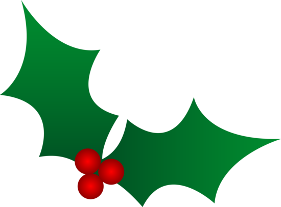 Green Christmas Holly