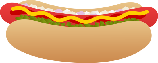 Hot Dog Vector Art