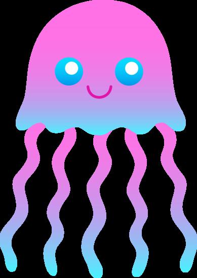 Cute Jellyfish Clip Art