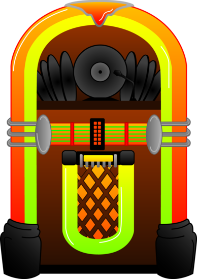 Colorful Jukebox Design