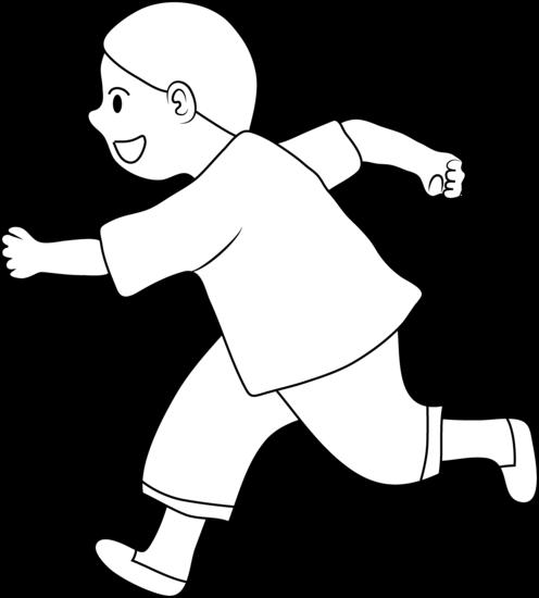 Blog Pendidikan Children Running Drawing