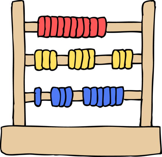 Kids Abacus Toy Clip Art