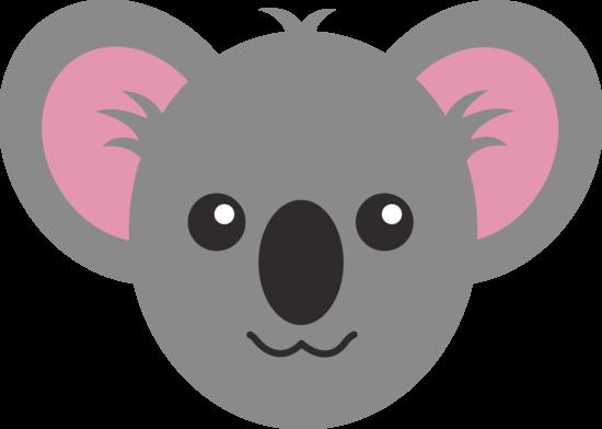 Cute Koala Face