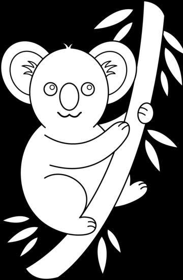 Colorable Koala Design