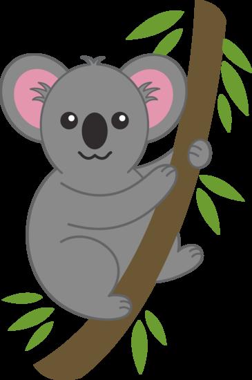 Cute Koala in a Tree