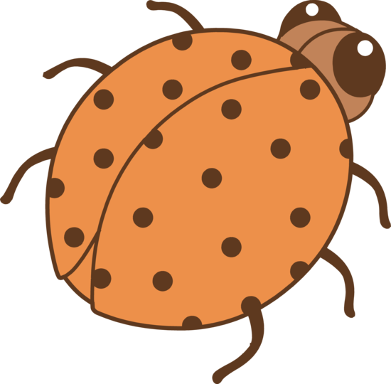 free cartoon ladybug clipart - photo #40