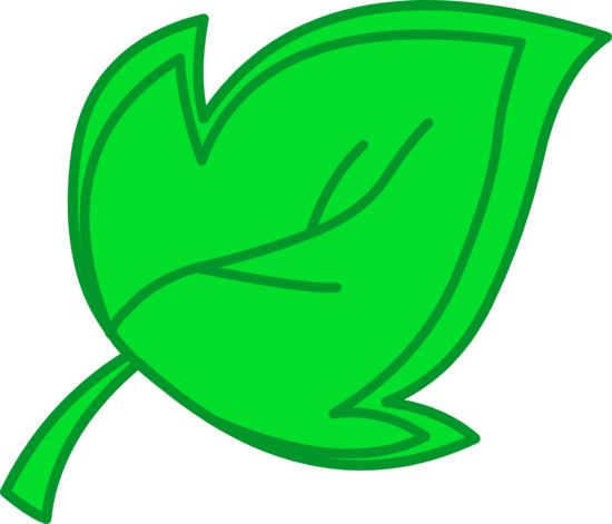 Green Tree Leaf Clip Art
