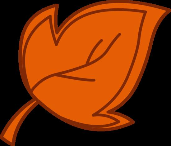 Brown Autumn Tree Leaf Clipart