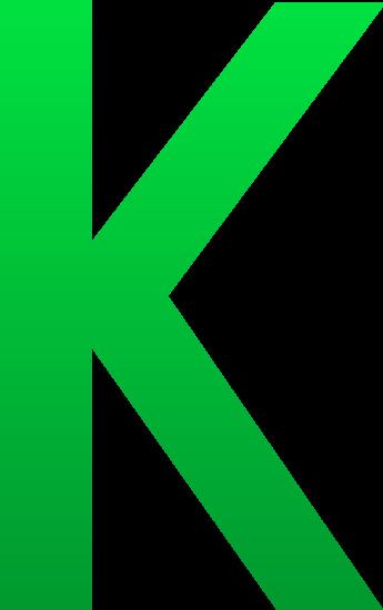 The Letter K - Free Clip Art