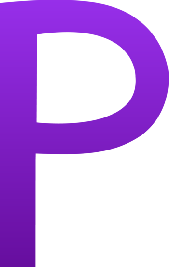 The Letter P - Free Clip Art