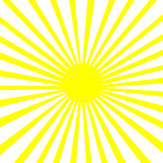 White and Yellow Action Lines Pattern