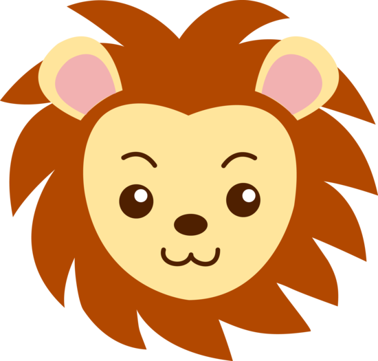 Cute Lion Face