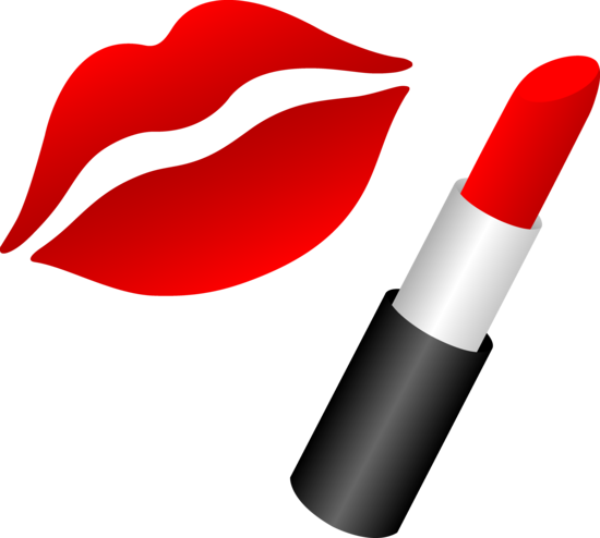 Lips and Red Lipstick