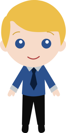 Little Guy Wearing a Suit 1