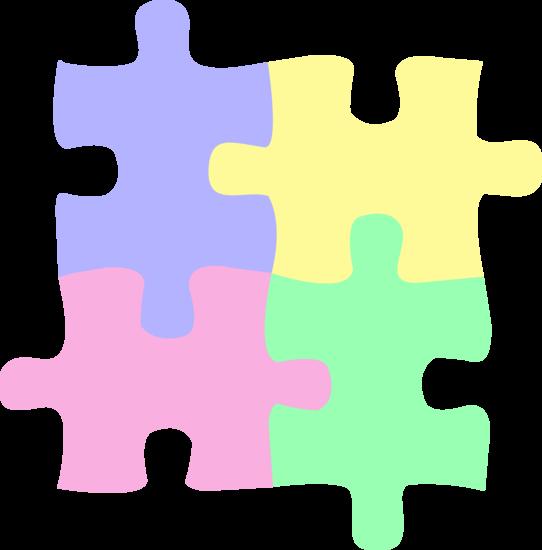 Kids or Babies Puzzle Pieces Design