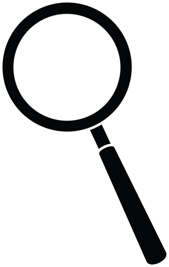 Magnifying Glass Silhouette
