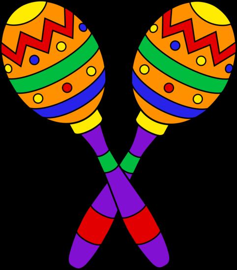 Colorful Maracas Design