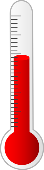 Red Thermometer Clip Art