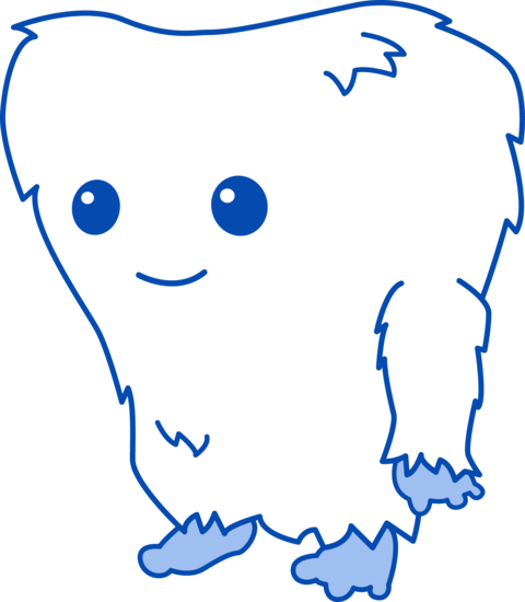 Cute Little Yeti Monster