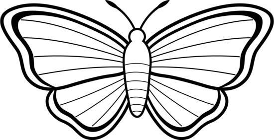 Colorable Moth Design