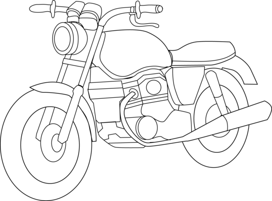 Line Art Motorcycle : Image gallery motorcycle black and white