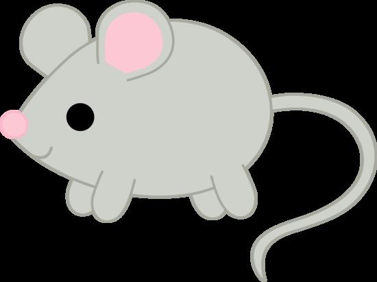 Little Gray Mouse Clip Art
