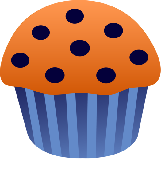 Simple Blueberry Muffin Design