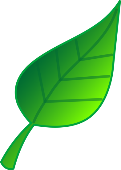simple green leaf vector art free clip art rh sweetclipart com green leaf clipart green leaf clip art free