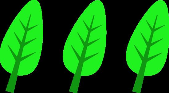 Simple Tree Leaves Design