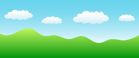 Simple Landscape Nature Scene