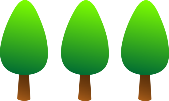 Simple Green Trees Logo