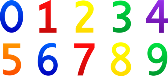Numbers Zero Through Nine